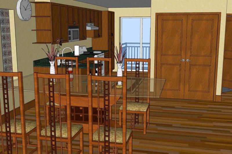 Projet larente sketchup images for Modele maison sketchup